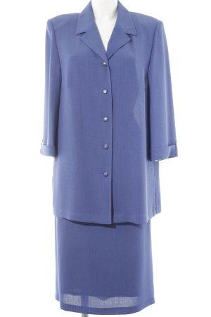 AZ Modell Tailleur bleu acier style d'affaires