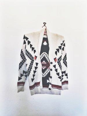 Aztec Cardigan von Sandro mit Cashmere/Angora gemisch