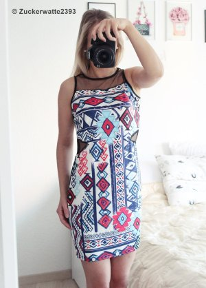 Azteken Party Kleid 36 S Blogger <3