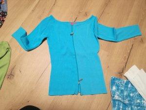 Shirt Jacket blue-neon blue