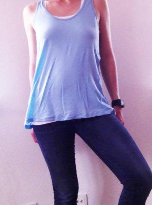 Azurblaues T-Shirt Flamenco Brazil von CLOSED in 38 / M aus Sommerkollektion