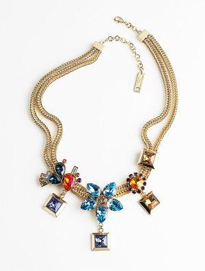 Azzaro Collier Necklace multicolored