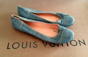 azzedine ALAÏA alaia Paris denim Ballerinas Flats 40