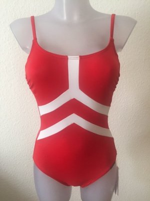 Olympia Swimsuit red-white polyamide