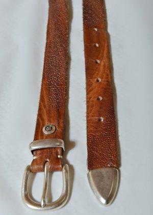 B Belt Cinturón de cuero multicolor