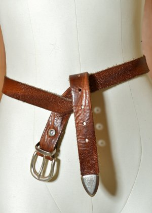B Belt Leather Belt multicolored leather