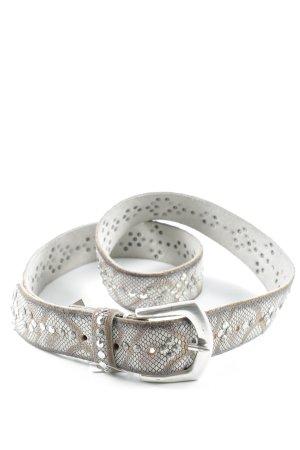 B Belt Leather Belt animal pattern animal print