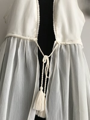 Best Connections Fringed Vest multicolored