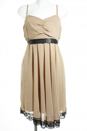 b.p.c. Bonprix Collection Abendkleid nude Elegant