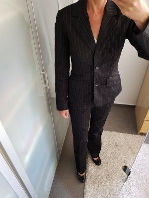 b.p.c. Bonprix Collection Business Suit silver-colored-dark blue