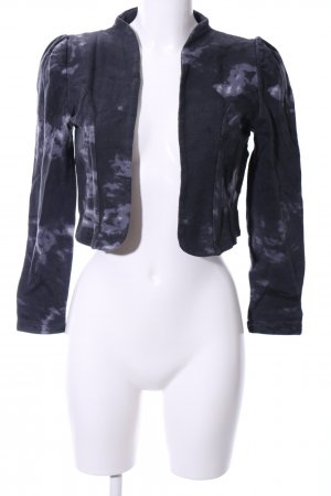 b.p.c. Bonprix Collection Bolero blue-light grey abstract pattern