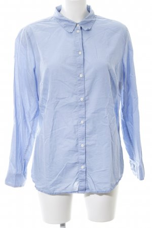 b.p.c. Bonprix Collection Hemd-Bluse blau Business-Look