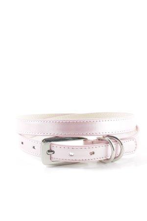 b.p.c. Bonprix Collection Cinturón de cadera rosa claro-color plata elegante