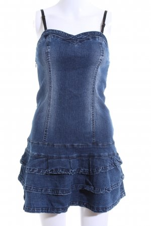 b.p.c. Bonprix Collection Denim Dress blue casual look