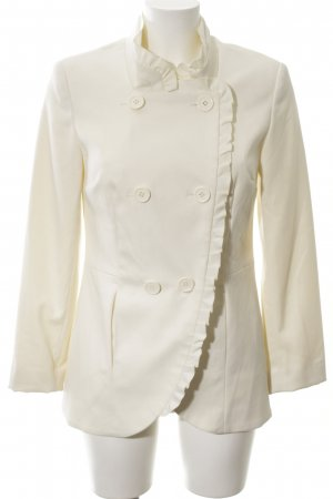 b.p.c. Bonprix Collection Blazer lungo bianco sporco elegante