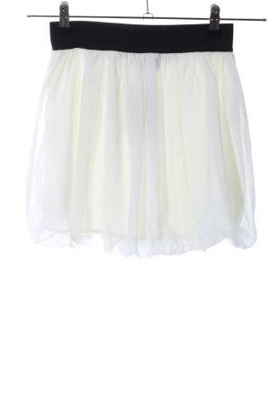 b.p.c. Bonprix Collection Miniskirt white-black elegant