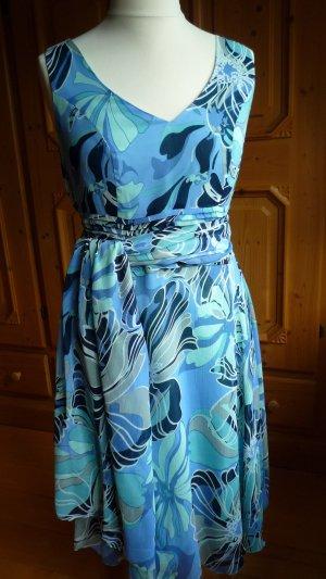 b.p.c. Bonprix Collection Chiffon Dress multicolored polyester