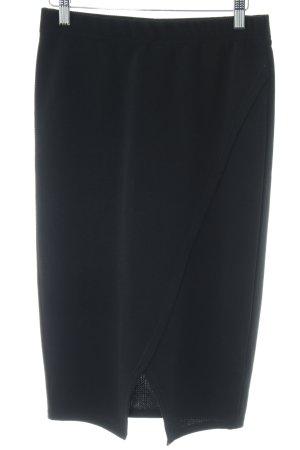 B.young Falda de tubo negro estilo «business»