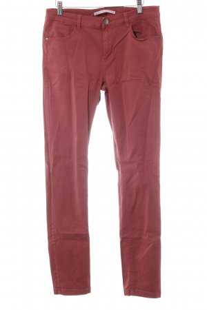 B.young Lage taille broek roodbruin casual uitstraling