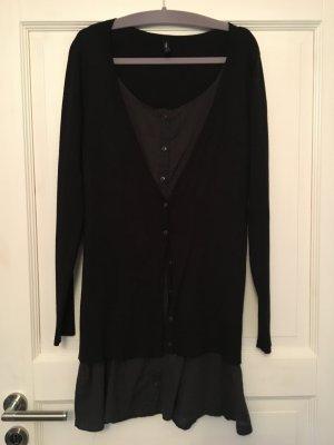 b.young Kleid grau schwarz Gr. M