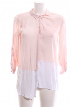 B.young Long Sleeve Blouse pink-white casual look