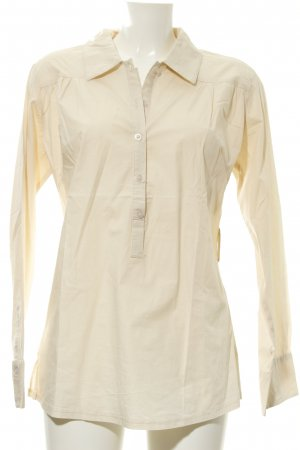 B.young Langarm-Bluse creme Casual-Look