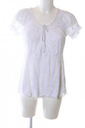 B.young Lace Blouse white casual look