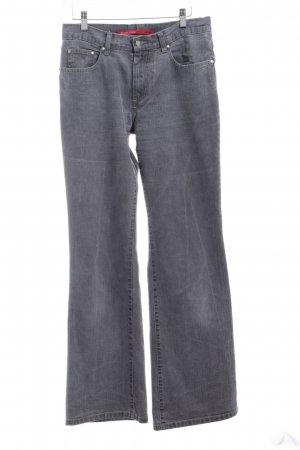 B.young Straight-Leg Jeans grau Casual-Look