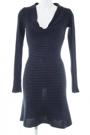 B.young Strickkleid neonblau Casual-Look