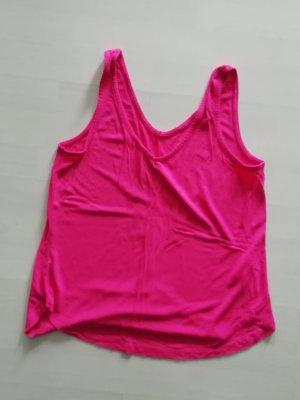 B.young Camiseta sin mangas rosa-rosa neón