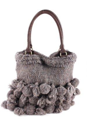 B.yu Italy Shopper grijs-bruin extravagante stijl
