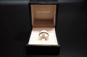 Bulgari Gold Ring white real gold