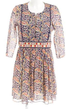 Ba&sh Robe trapèze motif aztèque style Boho