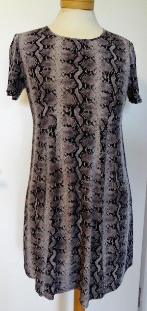 ba&sh  Animal Print Georgette Kleid