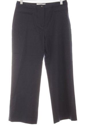 Ba&sh Pantalon à pinces bleu foncé style d'affaires