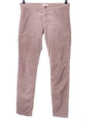 Ba&sh Pantalón de pana crema look casual