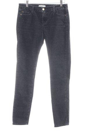 Ba&sh Corduroy broek zwart casual uitstraling
