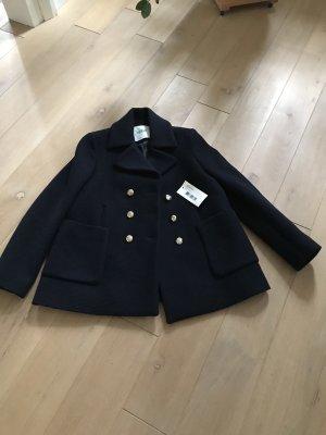 Ba&sh Short Coat dark blue