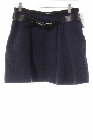 Ba&sh Flared Skirt black-dark blue casual look