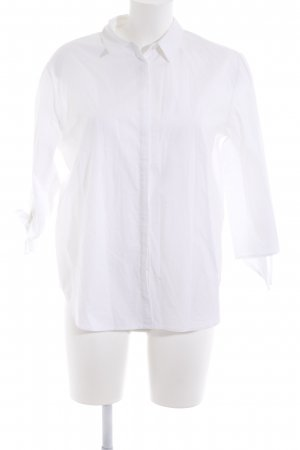 Ba&sh Hemdblouse wit klassieke stijl