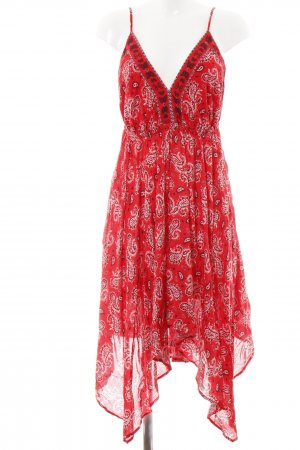Ba&sh Hippie Dress abstract pattern Boho look
