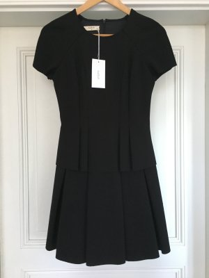 Ba&sh Peplum Dress black mixture fibre