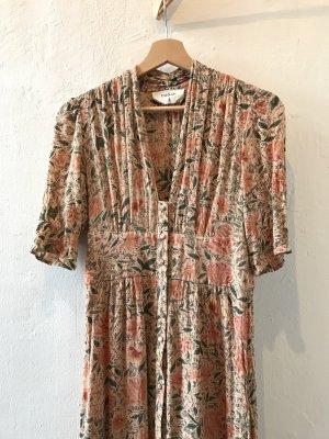 Ba&sh Shortsleeve Dress multicolored viscose