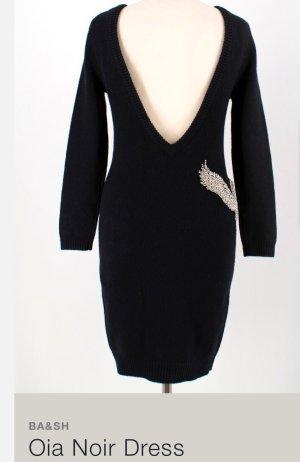 Ba&sh Vestido tejido negro