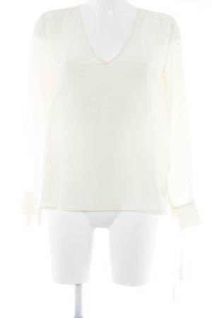 Ba&sh Camicetta a maniche lunghe crema elegante