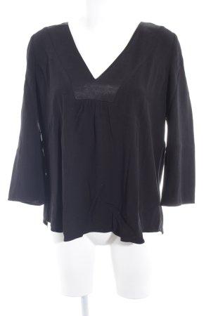 Ba&sh Langarm-Bluse schwarz Elegant