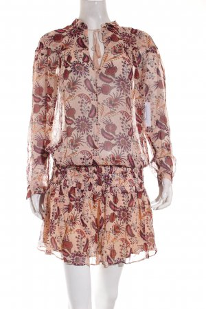 Ba&sh Langarmkleid florales Muster Romantik-Look