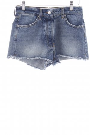 Ba&sh Short bleu Aspect de jeans