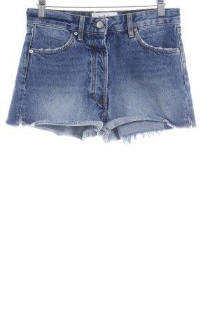Ba&sh Shorts blu stile jeans