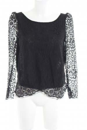 Ba&sh Lace Blouse black lace look
